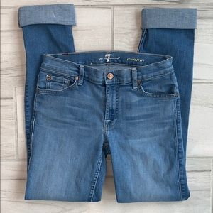 7 for all mankind Roxanne jeans size 27
